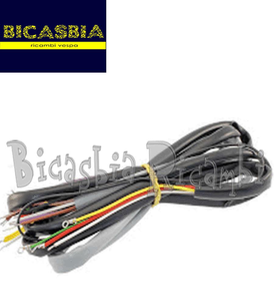 Schema Elettrico Vespa Px 125 : Impianto elettrico vespa px con frecce b