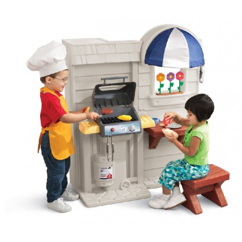 Little Tikes Inside Outside Cook N Grill Kitchen Role Play