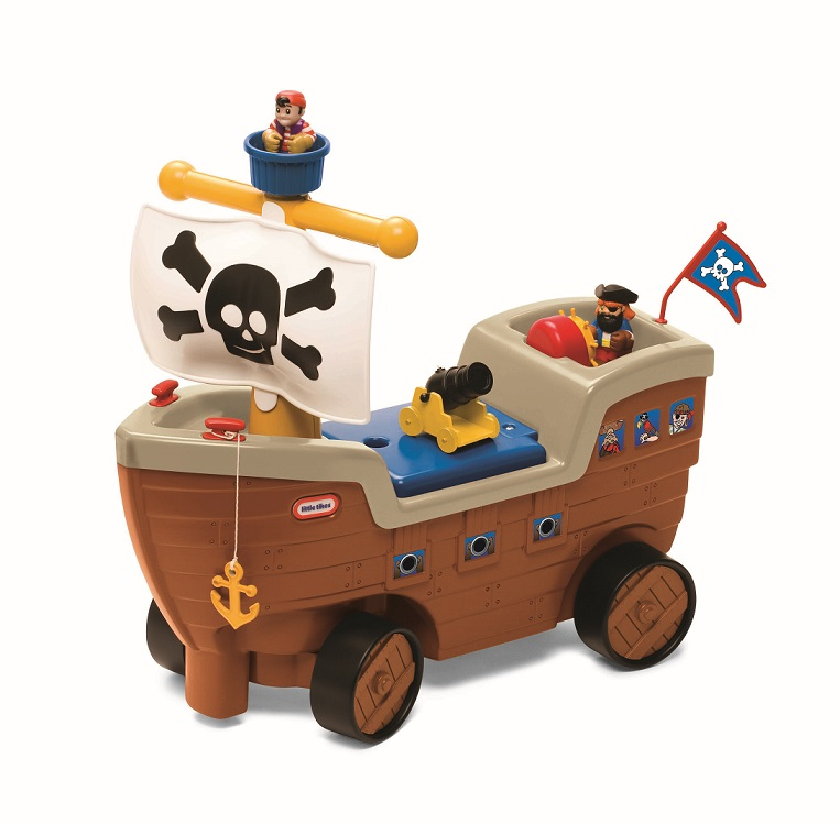 Little Tikes Ride On Toys : Little tikes play n scoot pirate ship infant ride on toys