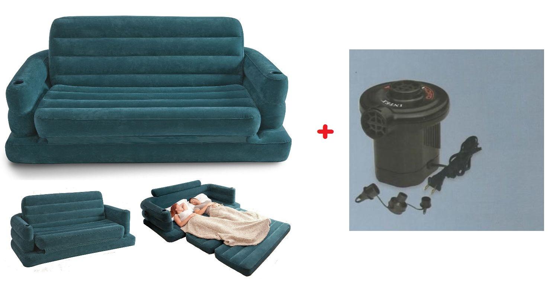 Materasso gonfiabile con pompa intex materasso letto gonfiabile con pompa fibertech mshop - Divano del sesso ...