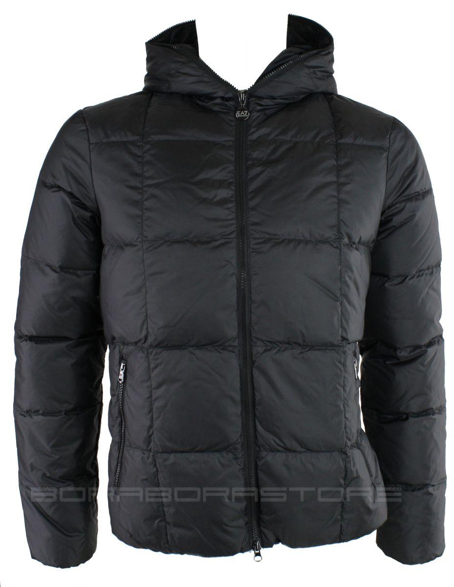 emporio armani ea7 herren jacke winter daunen jacke zipper. Black Bedroom Furniture Sets. Home Design Ideas