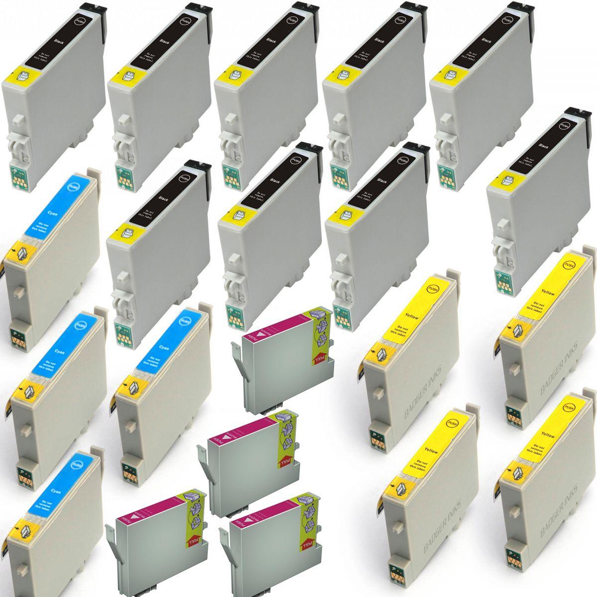 E128x20 20 cartucce compatibili per epson stylus office bx305fw plus s22 sx125 ebay - Epson stylus office bx305fw plus ...