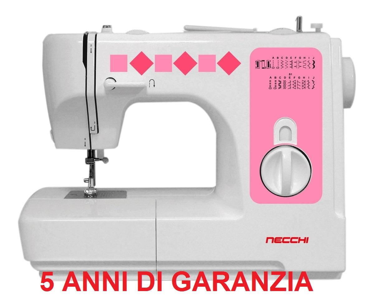 Macchine macchina da per cucire necchi n8380b meccanica for Macchina da cucire meccanica