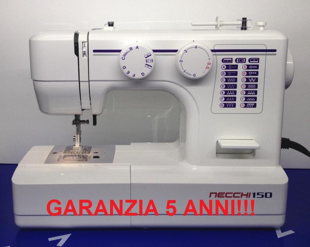 Macchine macchina per da cucire necchi 150 con piedino for Macchina per cucire per bambini