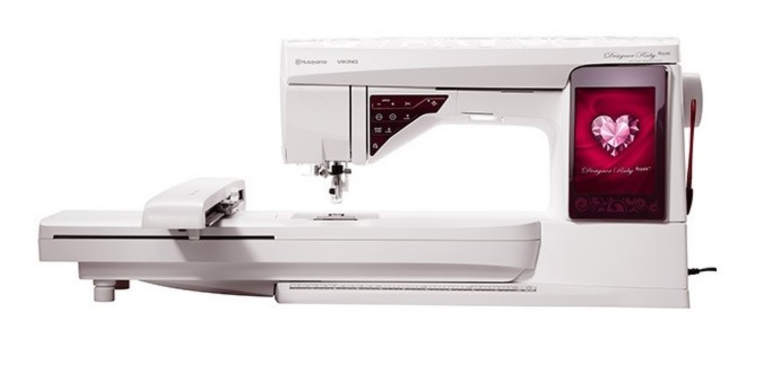 Macchine macchina da per cucire ricamo ricamare husqvarna for Macchina da cucire e ricamo