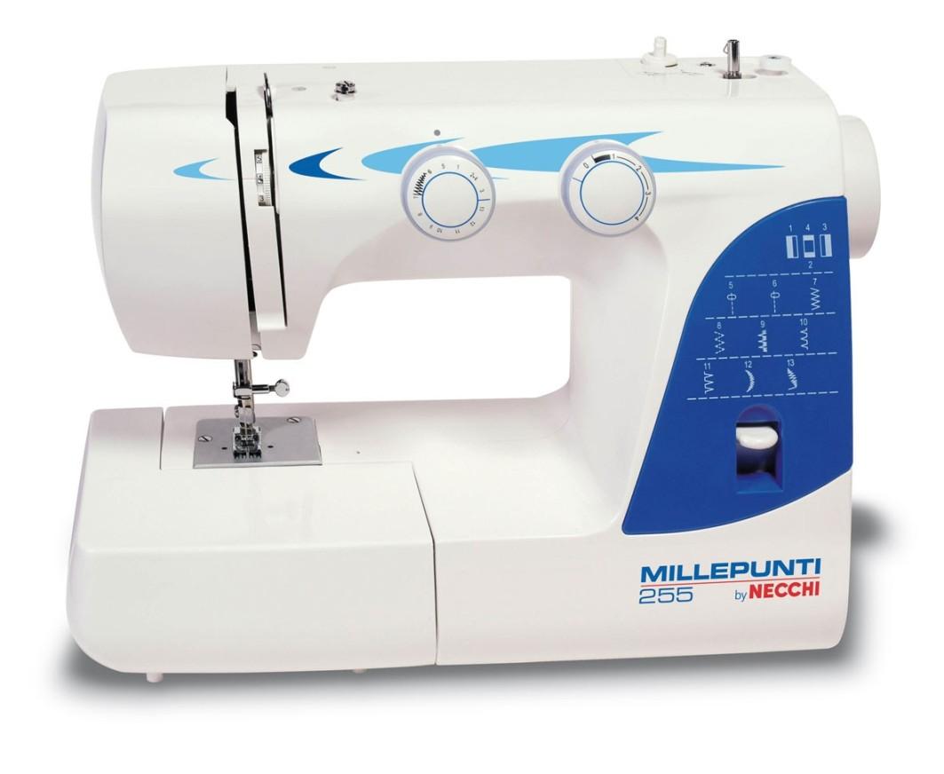 Macchina macchine da per cucire millepunti necchi 255m for Pedale per macchina da cucire necchi