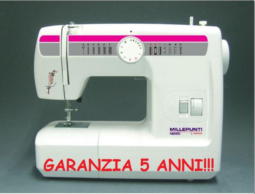 Macchina macchine da per cucire millepunti necchi m220 for Macchina per cucire elettrica