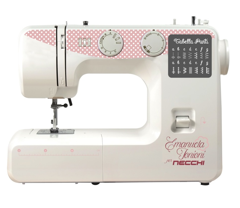 Macchine macchina da per cucire necchi zakka n120 emanuela for Macchina cucire necchi