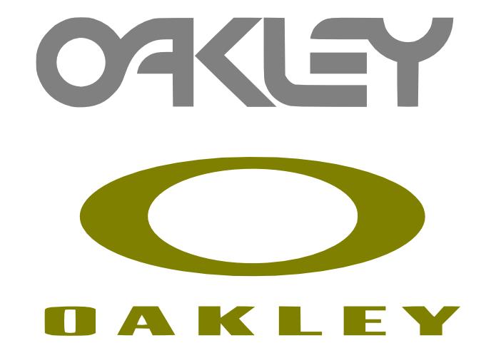 Oakley Logo Stickers