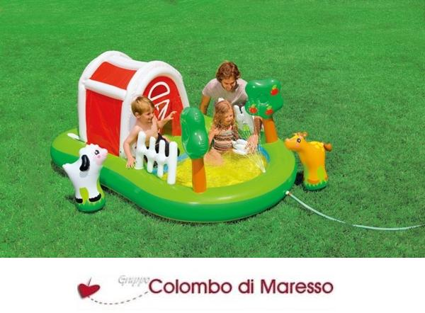 Piscina piscine gonfiabile gonfiabili giochi playground - Piscina intex gonfiabile ...