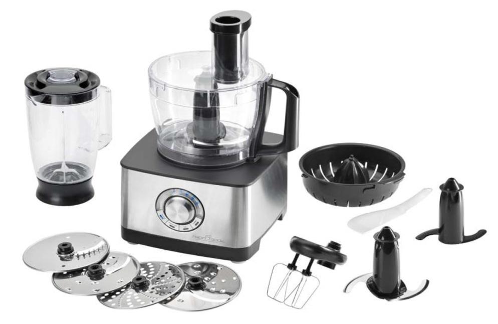 Tritatutto robot da cucina 1200w mixer elettrico proficook profi cook km1025 ebay - Robot per cucinare kenwood ...