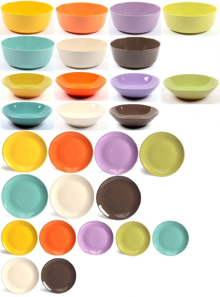 Servizio piatti colorati - Shopping Acquea
