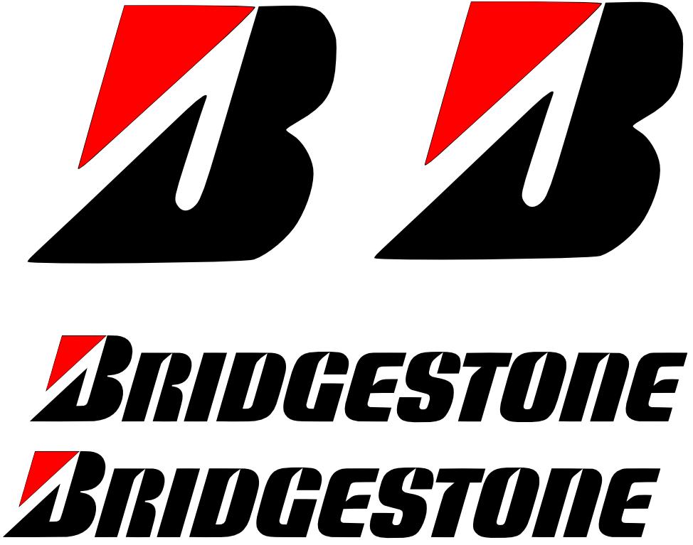 Bridgestone Stickers Motorcycle Bridgestone Sticker Pack