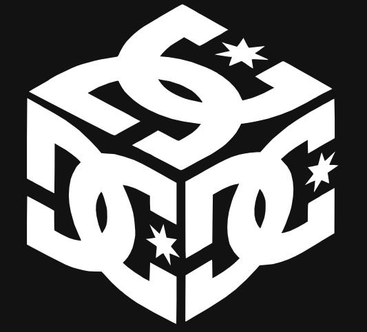 Logo Dc Shoes En Couleur