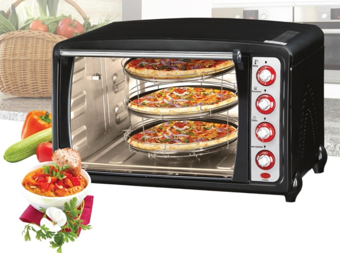 Forno multiforno forni per da pizza forni ventilato dcg mb9870n mb 9870 70 litri ebay - Forni per pizza casalinghi ...