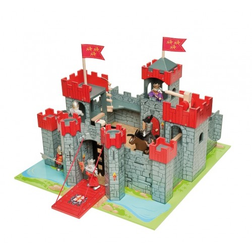 Toy Castles For Little Boys : Le toy van lionheart castle papo childrens castles new