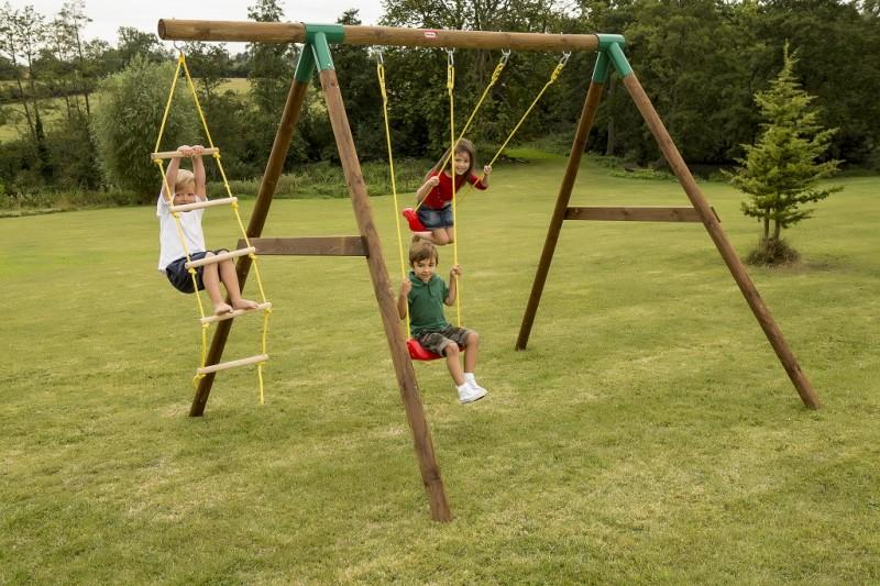 Little Tikes Riga Swing Set With Ladder, Swings, Swing