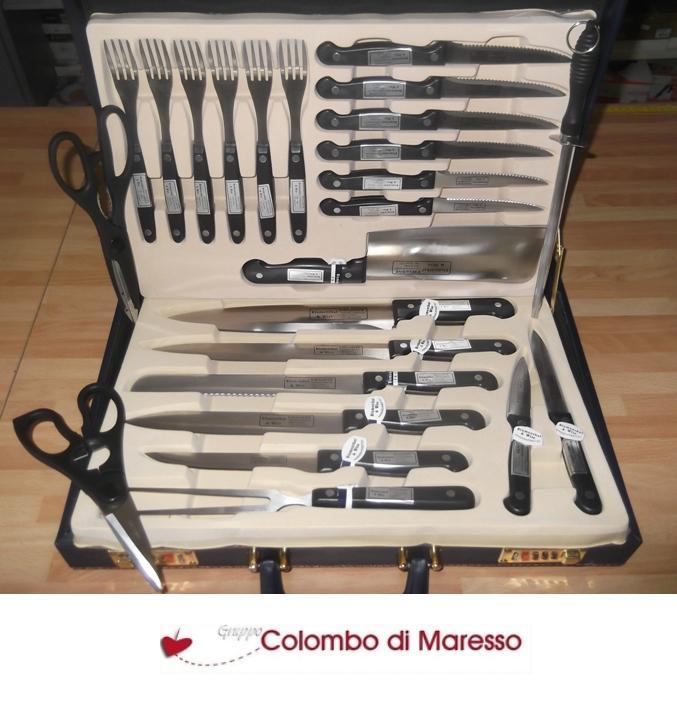 set coltelli da cucina coltelli 24 pezzi posate forchette coltello blumenthal