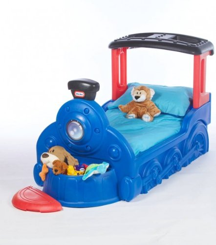 Little Tikes Sleepy Choo Choo Toddler Train Bed Toddler
