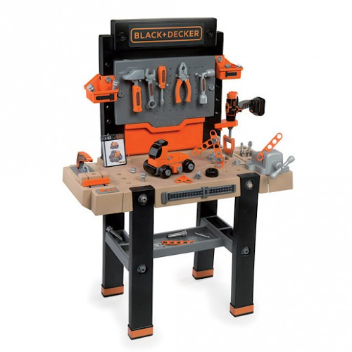 Smoby Black And Decker The Ultimate Workbench Ebay