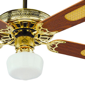 Ve crd43tl dcg ventilatore da per soffitto 4 pale 1 luce - Pale da soffitto design ...